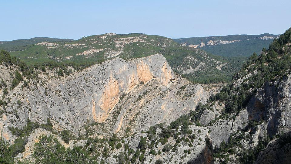 Senda de La Bojera en el Barranco de La Maimona (Montanejos)