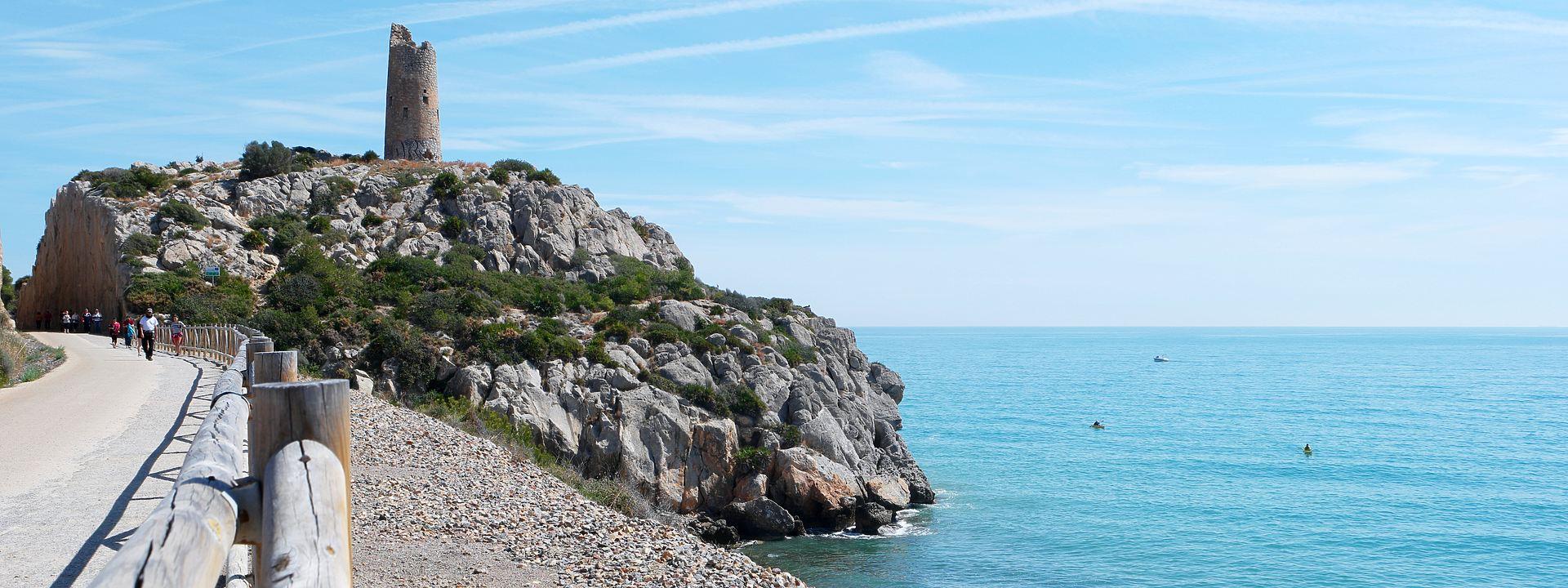 Vía Verde Del Mar De Benicàssim A Oropesa Ruta En Castellón
