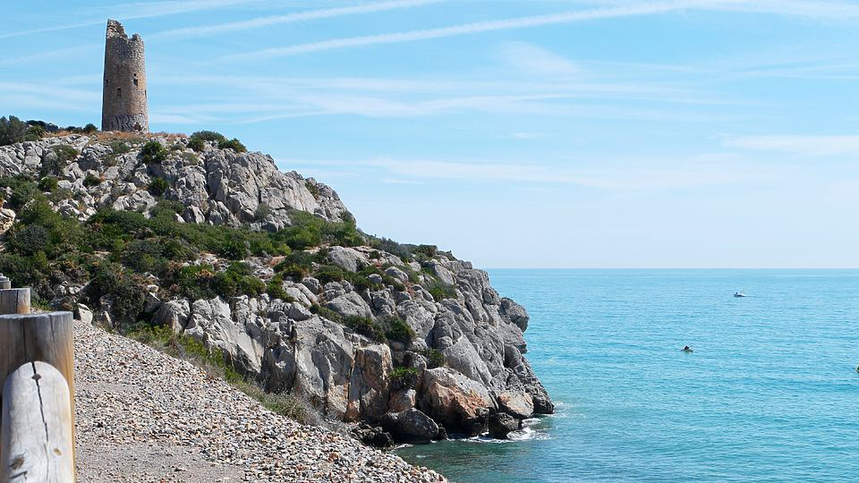 Vía Verde del Mar, de Benicàssim a Oropesa