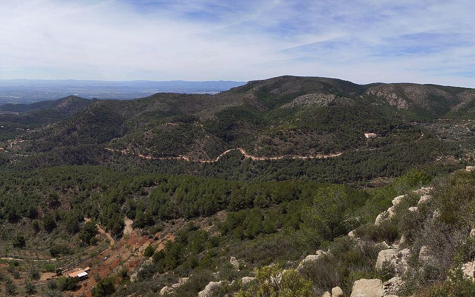 Ruta circular El Sierro, l'Oronet de Serra