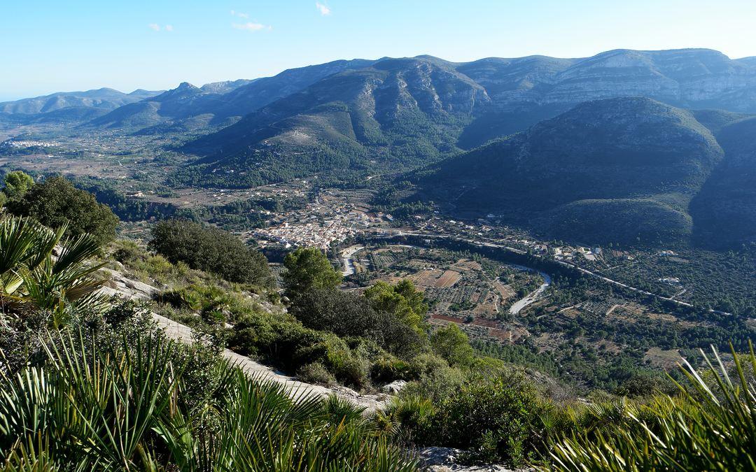 Bildergebnis für Foto vom Serra del Carrascal de Parcent